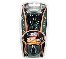 Dorco PACE 6 Black (2) мужской станок для бритья