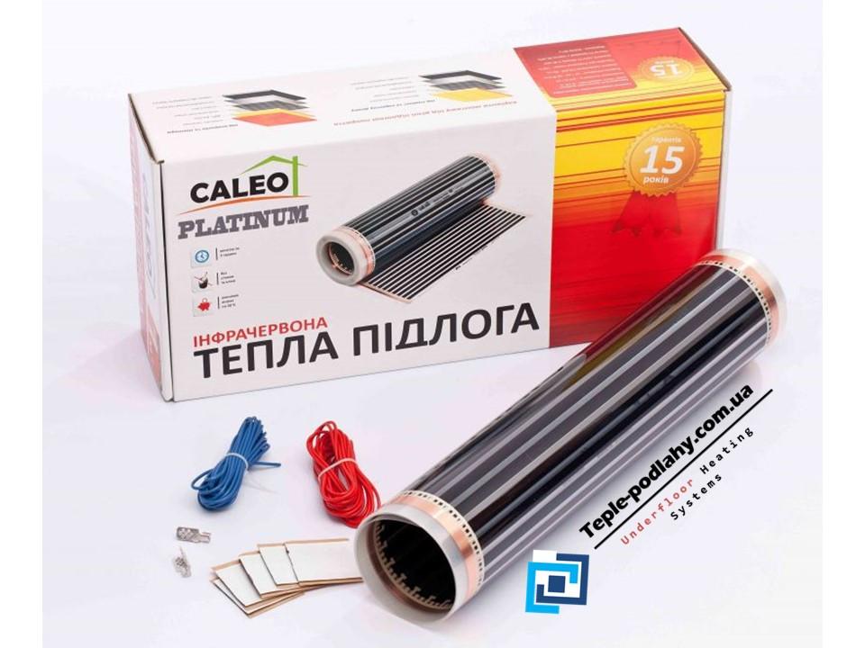 Пленочный теплый пол CALEO PLATINUM 220 Вт/м2, 4,0 м2