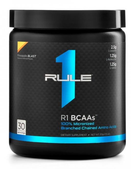 Rule One BCAAs 222 g orange