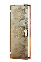 Стеклянная дверь для хаммама СЕЗАМ TESLI 700х1900 мм