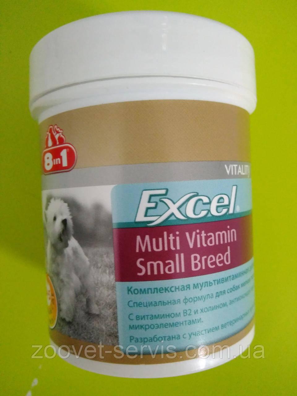 Мультивитаминный комплексExcel Multi Vitamin Small Breed 8in1 для собак мелких пород