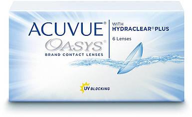 Двухнедельные контактные линзы - Acuvue Oasys 2-Wochenlinsen weich +4,75 диоптрий