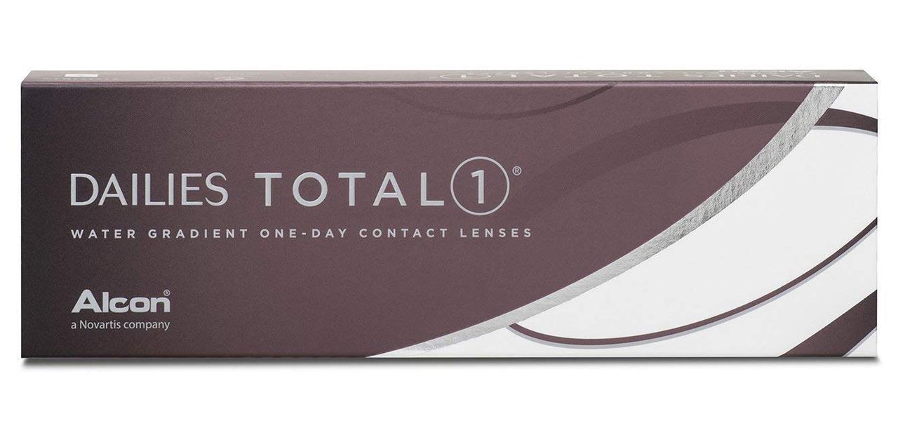 Ежедневные линзы - Dailies Total 1  -1 диоптрий