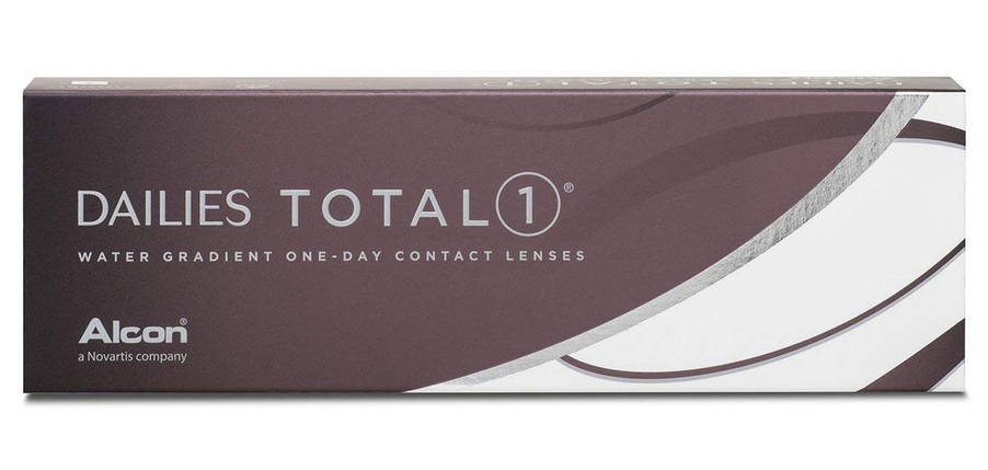 Ежедневные линзы - Dailies Total 1  -1 диоптрий, фото 2