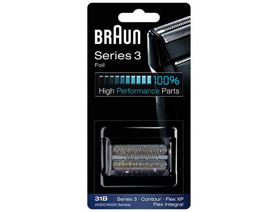 Насадка сетка для бритвы 31B - Braun Series 3, фото 2