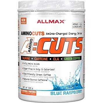 Аминокислоты All Max Nutrition A:Cuts 252 g blue raspberry
