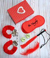 Подарочный набор для влюбленных в красивой коробочке 6 предметов