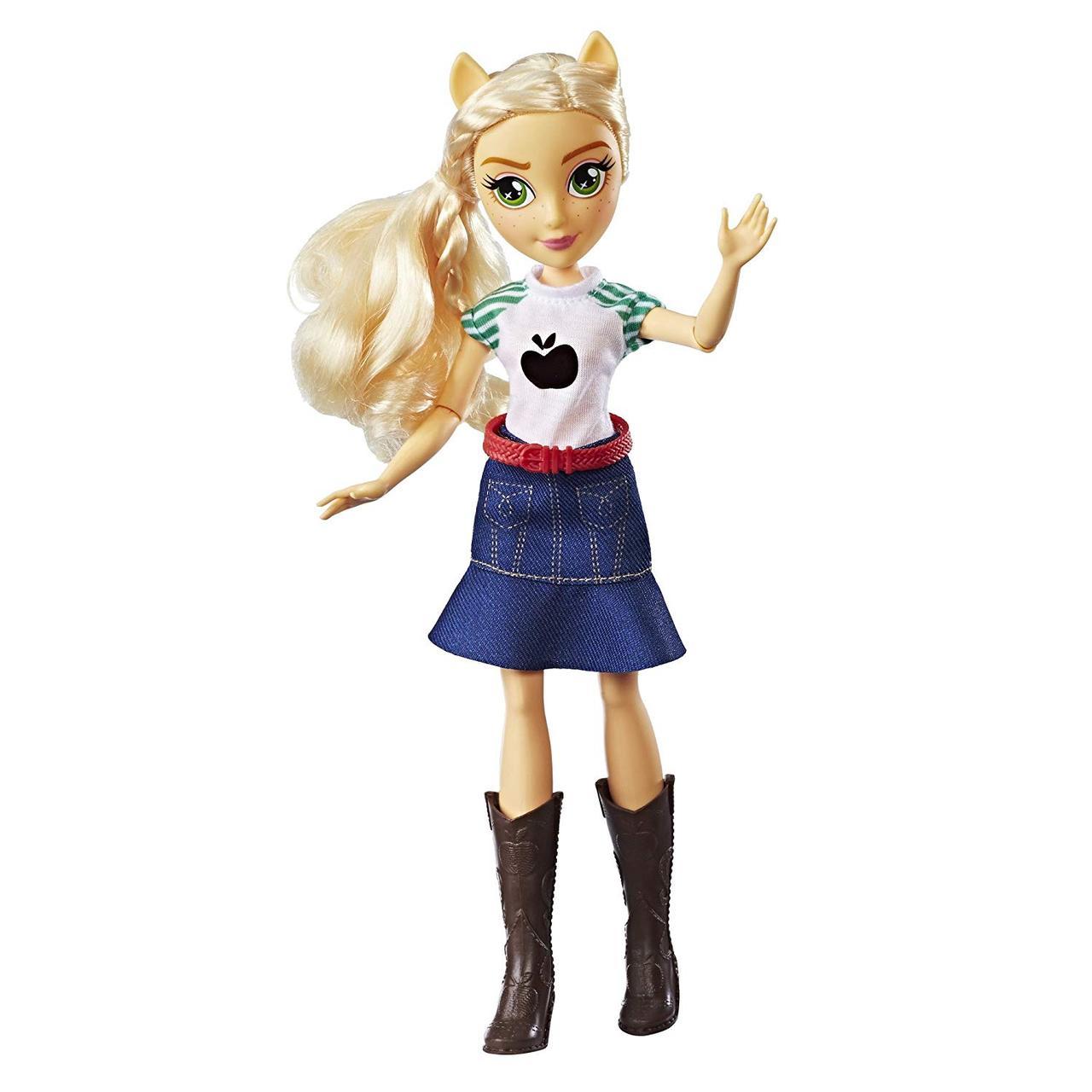 Кукла Пони Эпплджек Классический стиль My Little Pony Equestria Girls Applejack Classic Style