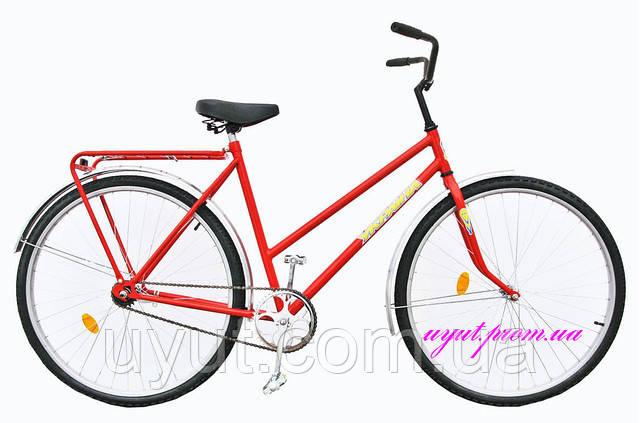 """Велосипед 28"""" УКРАИНА, модель 15-11 (заднее колесо с усиленной спицей)"""