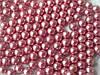 Шарики декоративные,розовый металлик d 4 мм.10г/уп