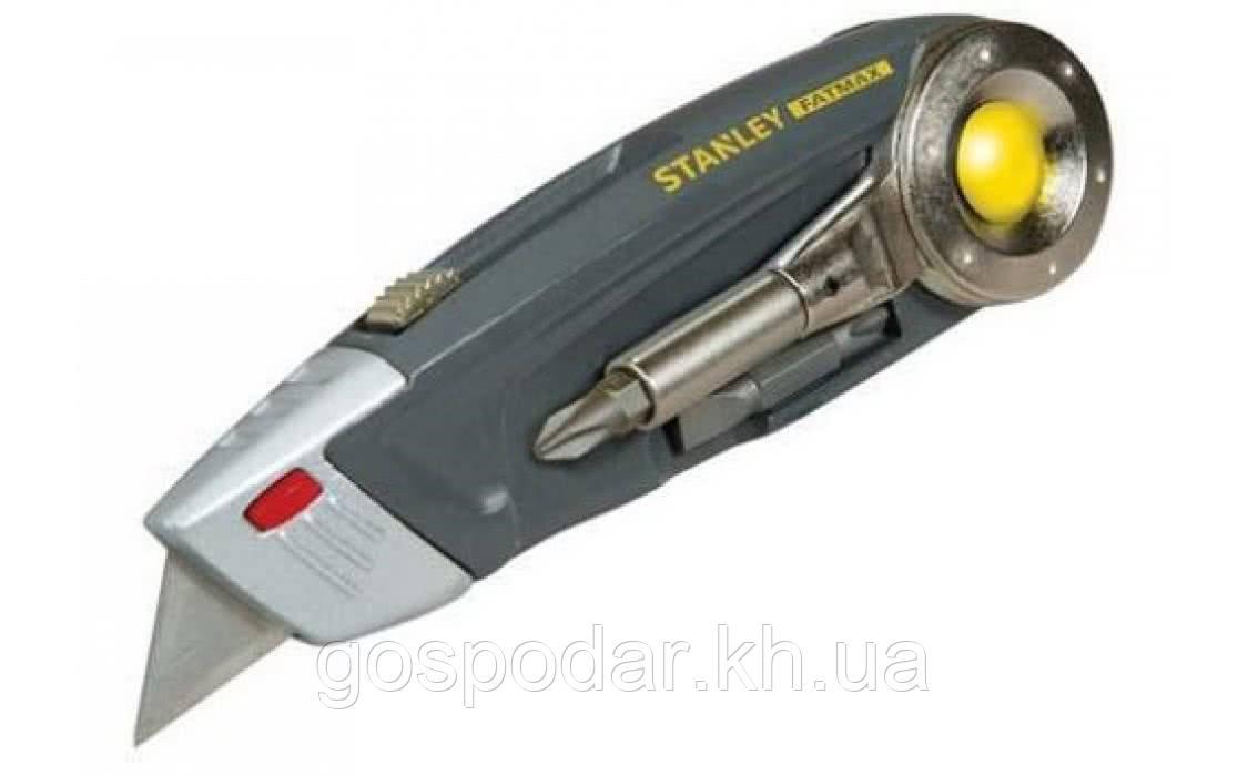 Мультитул Stanley MULTI-TOOL 4 в 1, нож, пассатижи,отвертка,бита