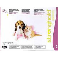 Стронгхолд ( Stronghold ) для щенков и котят 0-2.5 кг( Zoetis,США )