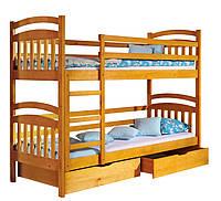 Двухъярусная Кровать Иринка дерево ольха. Акция!