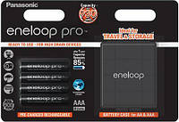 Набор Panasonic Eneloop Pro + Case [BK-4HCDEC4BE]