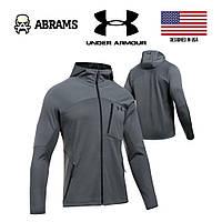 Куртка Under Armour ColdGear Reactor Fleece Zip Hooded Jacket - Rhino Gray