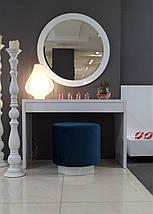 Дамський стіл Silver глянець, фото 3