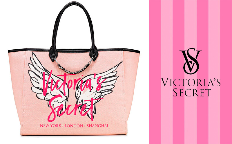 0efd37135 Купить Сумка Victoria's Secret Angel City Tote крем ORIGINAL с ...