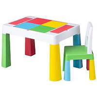 Набор мебели Tega Baby Multifun стол и стул Multicolor