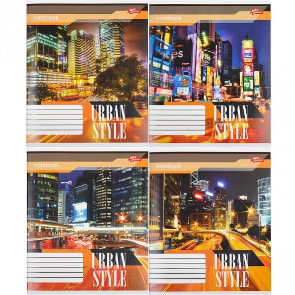 Тетрадь цветная 24 листа, линия «Городской стиль»       16 штук                          2379л