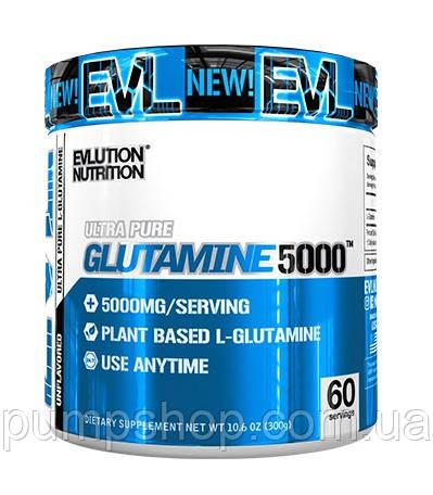Глютамин Evlution Nutrition Glutamine 5000 300 г