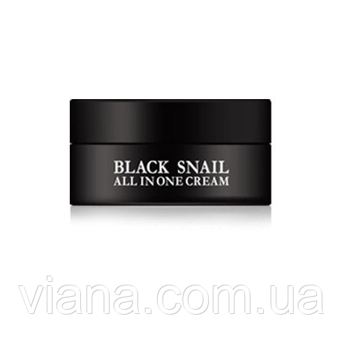 Крем с муцином черной улитки EYENLIP Black Snail All In One Cream 15 мл