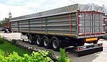 Накидка ПВХ на зерновоз, брезент Бельгия, Германия, фото 2