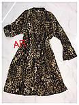 Женское платье плиссировка со звериным принтом (2 цвета), фото 4