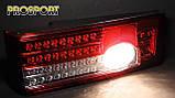 Задние фонари на Ваз 2108-2114 Освар черные диодные, фото 2