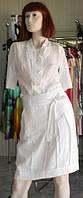 Белая батистовая блуза