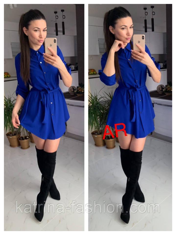 Женское платье-туника (расцветки)