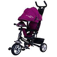 Трехколесный велосипед фиолетовый TILLY TITAN T-348 музыка и свет