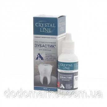 Зубастик Crystal Line гель стоматологический для собак 30 мл