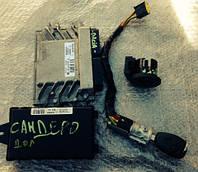 Блок управления двигателем комплект иммобилайзер ключ контактная группа Renault Sandero 8200856659,  820059839