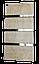 Керамический полотенцесушитель LIFEX ПСК600 (бежевый мрамор), фото 3