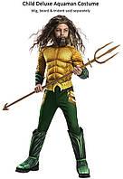 Карнавальный костюм Аквамен Aquaman Movie Deluxe, фото 1