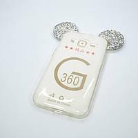 Чехол Silicon Mickey Diamond Samsung Galaxy G360