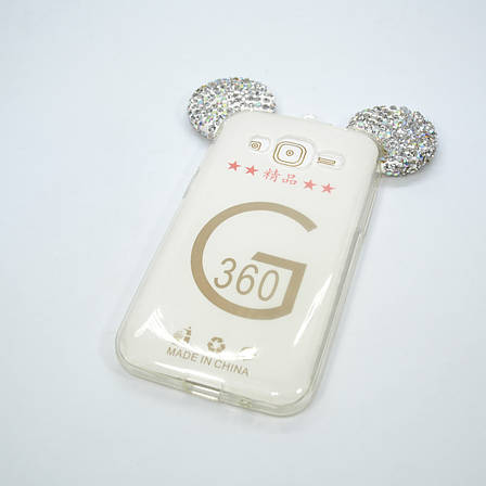 Чехол Silicon Mickey Diamond Samsung Galaxy G360, фото 2