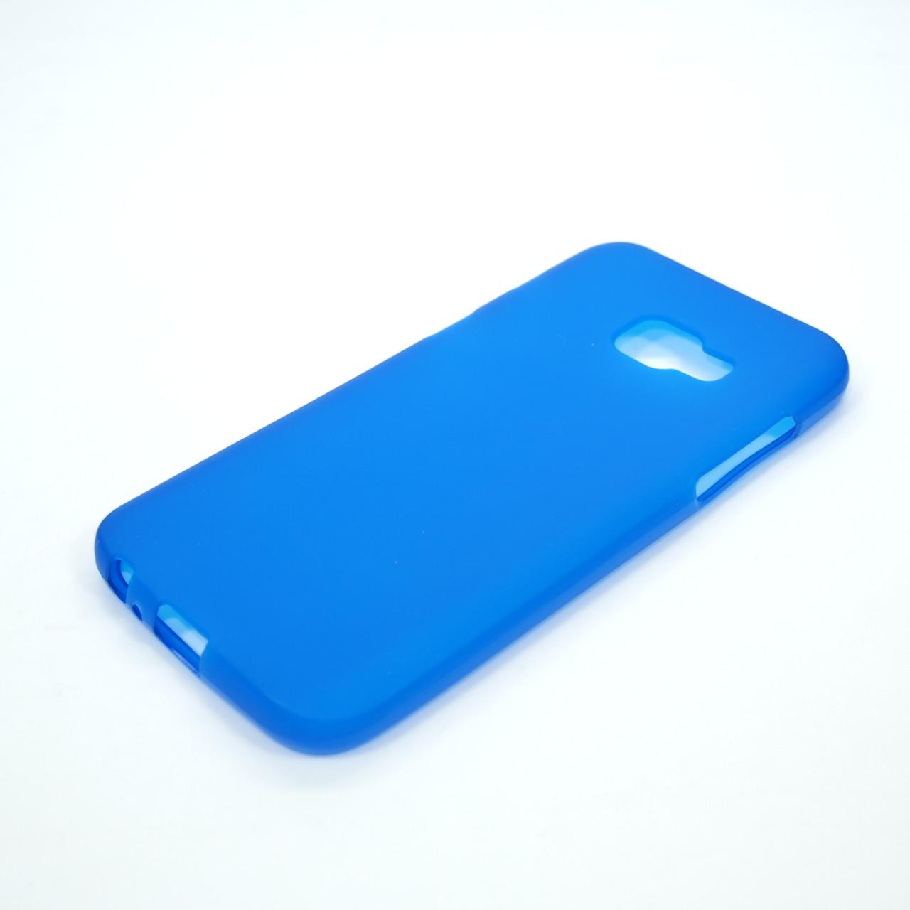 TPU Samsung A320 blue Galaxy A3 (A320) 2017 Для телефона