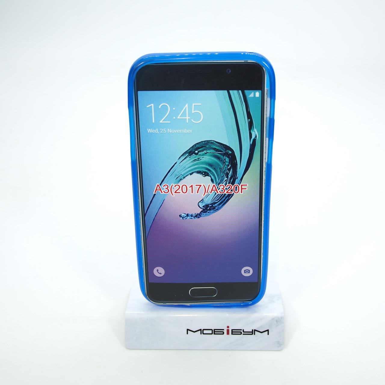 Чехол TPU Samsung A320 blue