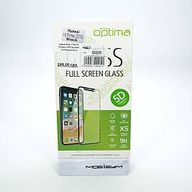 Захисне скло Optima 5D Huawei Y6 Prime black