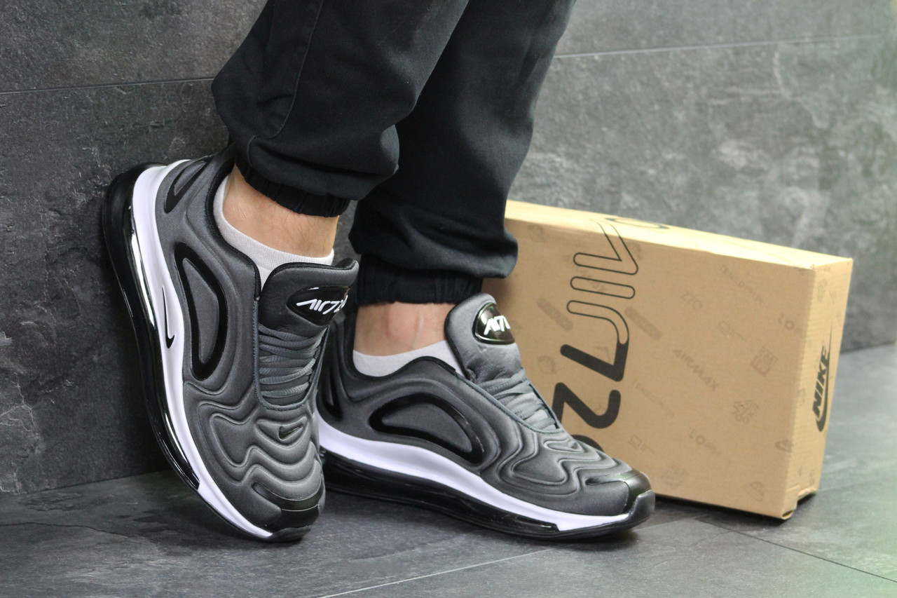 Nike Air Max 720 мужские кроссовки серые ( реплика ААА+) - bonny-style 38dcd9df63249
