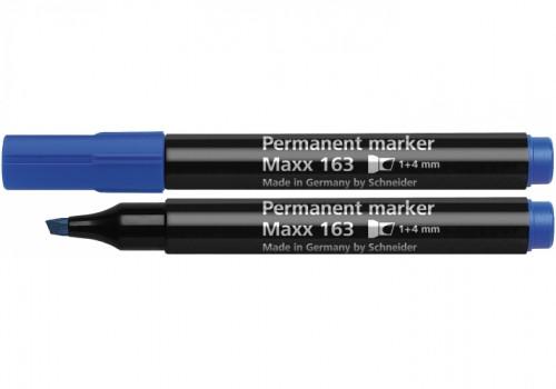 Маркер перманентний SCHNEIDER MAXX 160, 1-3 мм, синій
