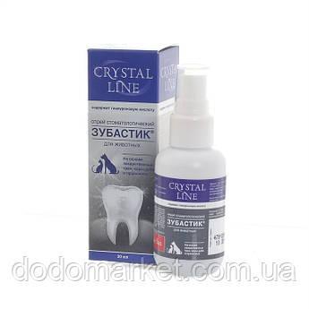 Зубастик Crystal Line спрей стоматологический для кошек 30 мл