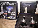 Лампи H1 x3 Led для авто,опт,роздріб, фото 2