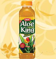 Корейський напій, Aloe Vera King Mango, Алое Вера Манго, OKF, 500 мл, Мо