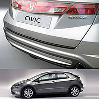 Honda Civic 2006-2011 пластиковая накладка заднего бампера , фото 1