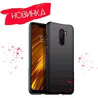 Чехол силиконовый чёрный для Xiaomi Pocophone F1