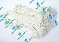 Резинка бельевая, плетёная. 10 метров, 10 мотков. ХБ резинка, тесьма., фото 1
