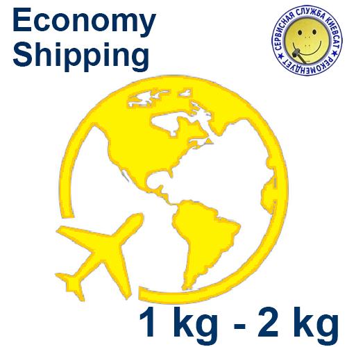 Эконом доставка посылки  1 kg - 2 kg