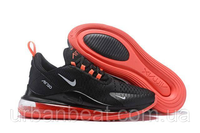 Мужские кроссовки Найк Air Max 720 Black Red Реплика